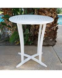 Bar Height Bistro Table Bargains On Belham Living Brighton Outdoor Wood Bar Height