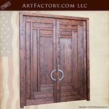 Custom Size Exterior Doors Slim Panel Craftsman Style Solid Wood Exterior Door Csw1200