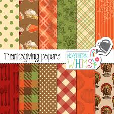 thanksgiving digital paper pack thanksgiving paper with pie