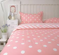 Gold Polka Dot Bedding Aliexpress Com Buy Cute Pink Polka Dot Bedding Sets Full Queen