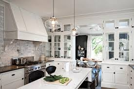 Drop Lights For Kitchen Island Kitchen Simple White 3 Light Pendant White Ceramic Tiles