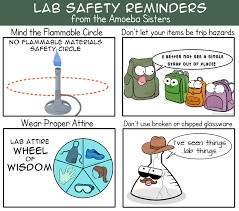 lab safety science with the amoeba sisters