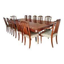 mahogany dining table vintage used mahogany dining tables chairish
