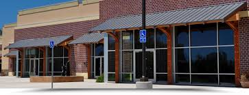 Commercial Building Awnings Building Awnings Lattice Shades Cedar City Ut