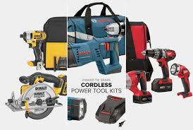 best cordless power tool combo kits gear patrol