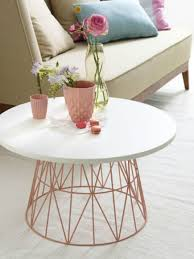 diy coffee table made out of wire bin that looks incredibly stylish