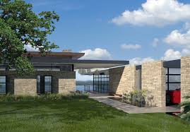 natural stone of wall home exterior design ideas in luxury modern