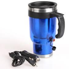 heated travel mug car travel cup auto tea coffee mug idrop