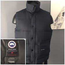 canada goose freestyle vest black mens p 26 fur coats jackets canada goose for ebay
