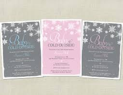 baby it s cold outside baby shower baby it s cold outside baby shower invitation snowflakes