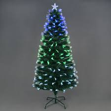 6ft fibre optic tree lights decoration