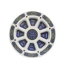 rosh hashanah seder plate glass rosh hashanah seder plate with pomegranates diamonds and