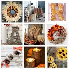 Homemade Fall Decor - roundup 10 rustic fall decor ideas to diy curbly