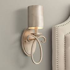 Wall Sconce Half Shades Cassidy Golden Silver Metal Shade 15 1 2