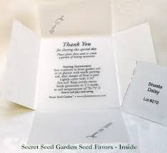 wedding seed favors periwinkle seed wedding favors plant a memory favors gifts