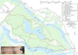 Boston Walking Map by Masstrails Com Westford