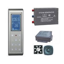 3kw steam generator sauna bath home spa shower w fm radio cd input