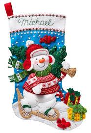 bucilla kits nordic snowman bucilla christmas kit
