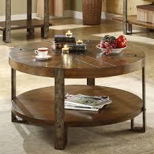 riverside sierra round cocktail table hayneedle