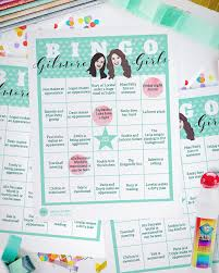 halloween bingo cards printable 20 bingo game cards gilmore girls game downloadable