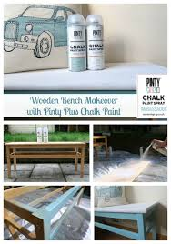 bench chalk paint bench weathered bench makeover chalk paint