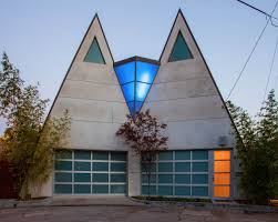 A Frame House For Sale Harry Gesner U0027s Colorful Double A Frame In The Hollywood Hills