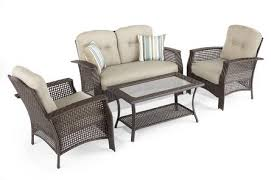 Tuscany Outdoor Furniture by Hometrends Tuscany 4 Piece Conversation Set Walmart Canada