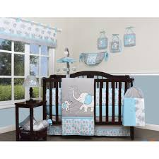geenny blizzard elephant 13 crib bedding set reviews wayfair