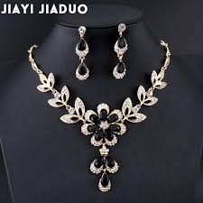 gold costume necklace images Jiayijiaduo hot african female costume jewelry set for women gold jpg