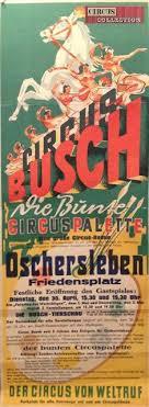 cirque bureau circus strassburger circa 1950 circus circus