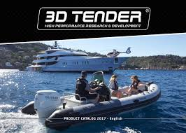 catalog 3d tender inflatable boats semi rigid a wide large