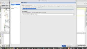 what is android sdk android studio how to change android sdk path stack overflow