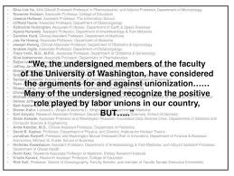 academic scientists and nimby unionization sexual harassment
