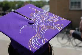 graduation cap decorations unique graduation cap decoration ideas create simple graduation