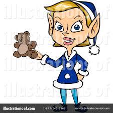 christmas elf clipart 1105143 illustration by cartoon solutions