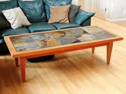 tile top coffee table diy outdoor tile table great patio idea could buy the cheep coffee