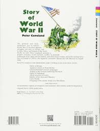 story of world war ii dover history coloring book peter f