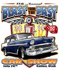 blast from the past car show in salina utah
