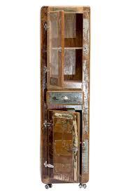 Wohnzimmerschrank Altholz Hochschrank Badschrank Schrank Badezimmer Altholz Recycelt Vintage