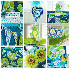Classroom Theme Decor Frogs Chevron Dragonflies Polka Dots Navy Turquoise Lime