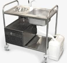 portable kitchen island with sink mobile sink caterhirecaterhire portable kitchen bench polleraorg