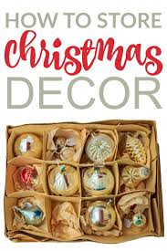 how to store decorations frugal eh