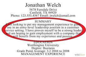 Resume Summaries Summary Examples For Resumes How To Write A Resume Summary 21