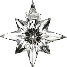 waterford mini ornament 2016 silver