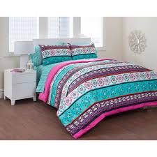 Bedding In A Bag Sets Formula Mosaic Tile Bed In A Bag Bedding Set Walmart