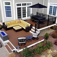 Composite Patio Pavers by Best 25 Backyard Deck Designs Ideas On Pinterest Backyard Decks