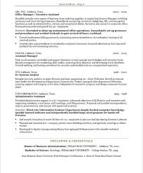 Resume Template For Executive Assistant Resume Example Administrative Assistant Sample Administrative