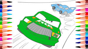 painting hicks and dinoco coloring pages disney pixar cars