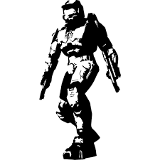 popular vinyl transfer decal buy cheap vinyl transfer decal lots game halo silhouette master cheif home room wall art decal sticker vinyl transfer mural decorative s m l