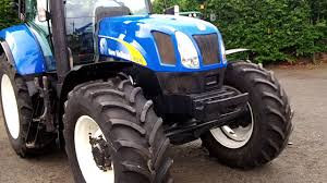 new holland t6070 range command 40kph youtube